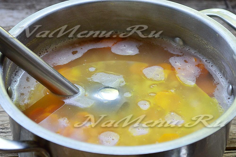Как сделать суп из мяса курицы