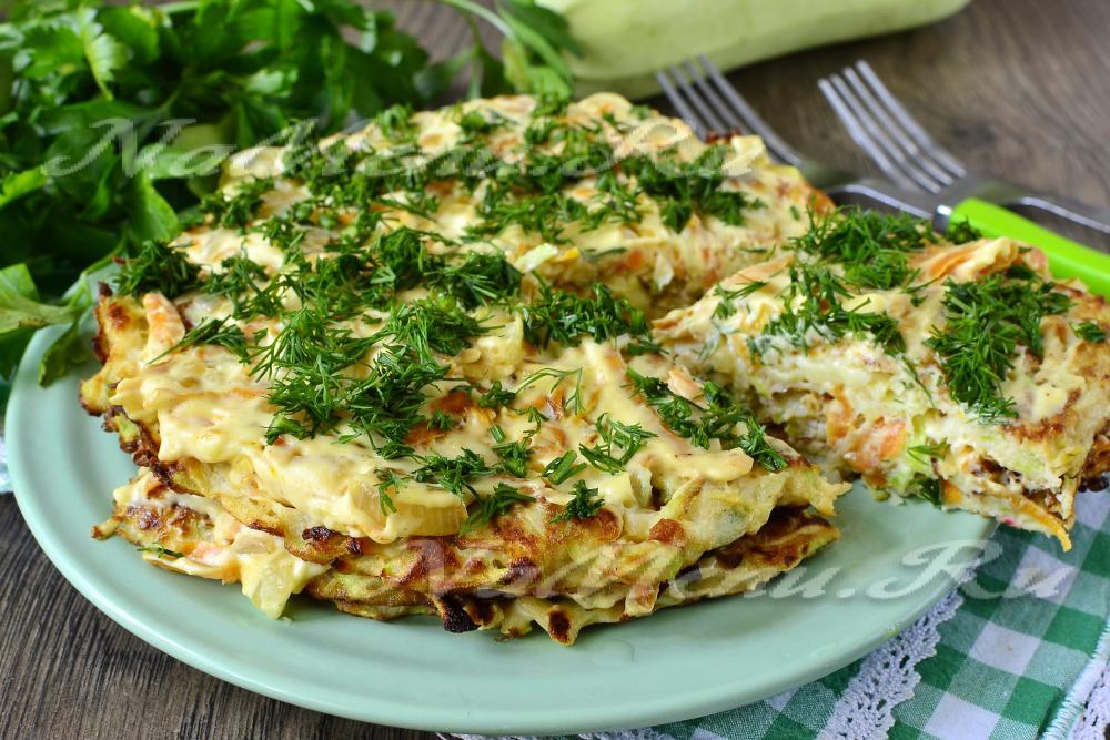 рецепты салатов из кабачков с чесноком на зиму