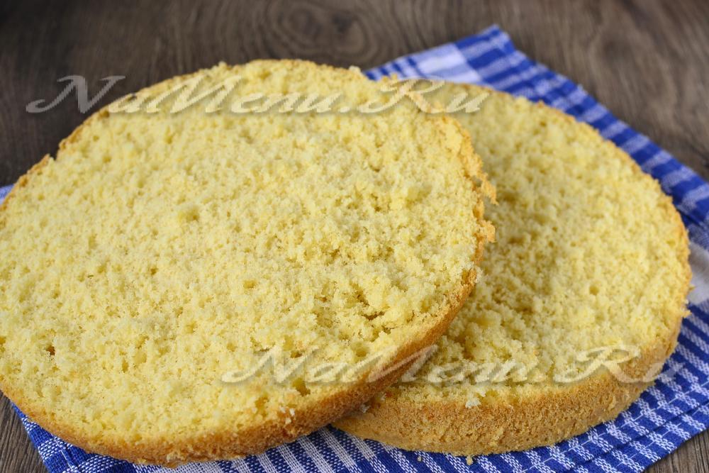 Бисквит в мультиварке на лимонаде пошаговый рецепт