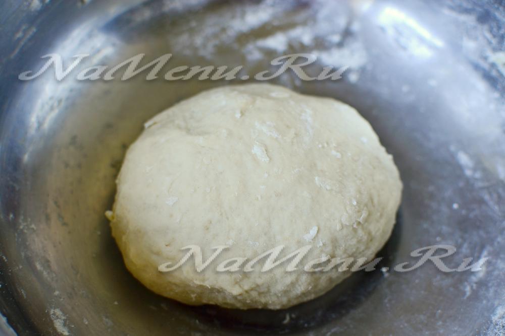 Тесто для пирога без дрожжей с пошагово в