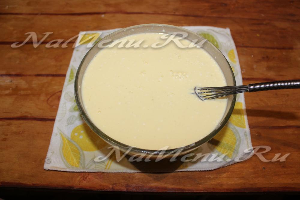 Как сделать блинчики из одного молока