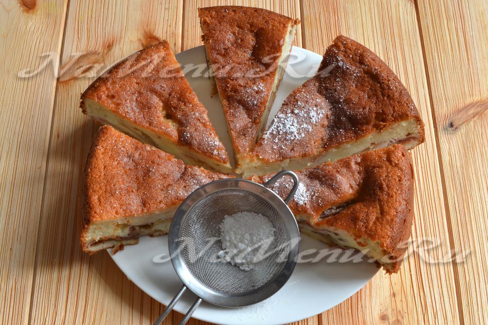 Быстрый рыбный пирог на кефире - пошаговый рецепт с фото ...