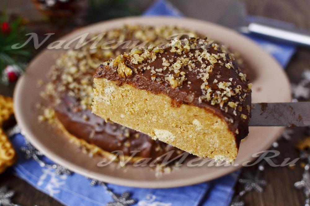 Торт Ромашки в снегу