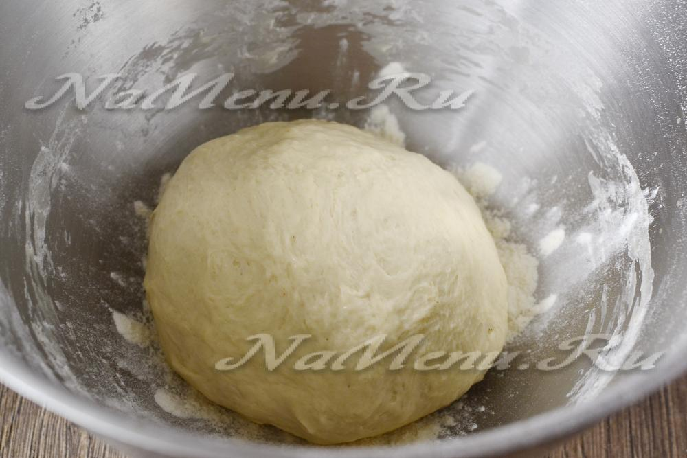 Тесто для пирожков с сухими дрожжами на молоке рецепт