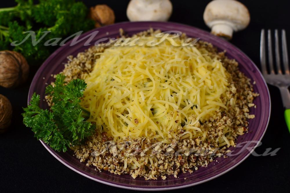Салат из копченой курицы с черносливом рецепт очень вкусный