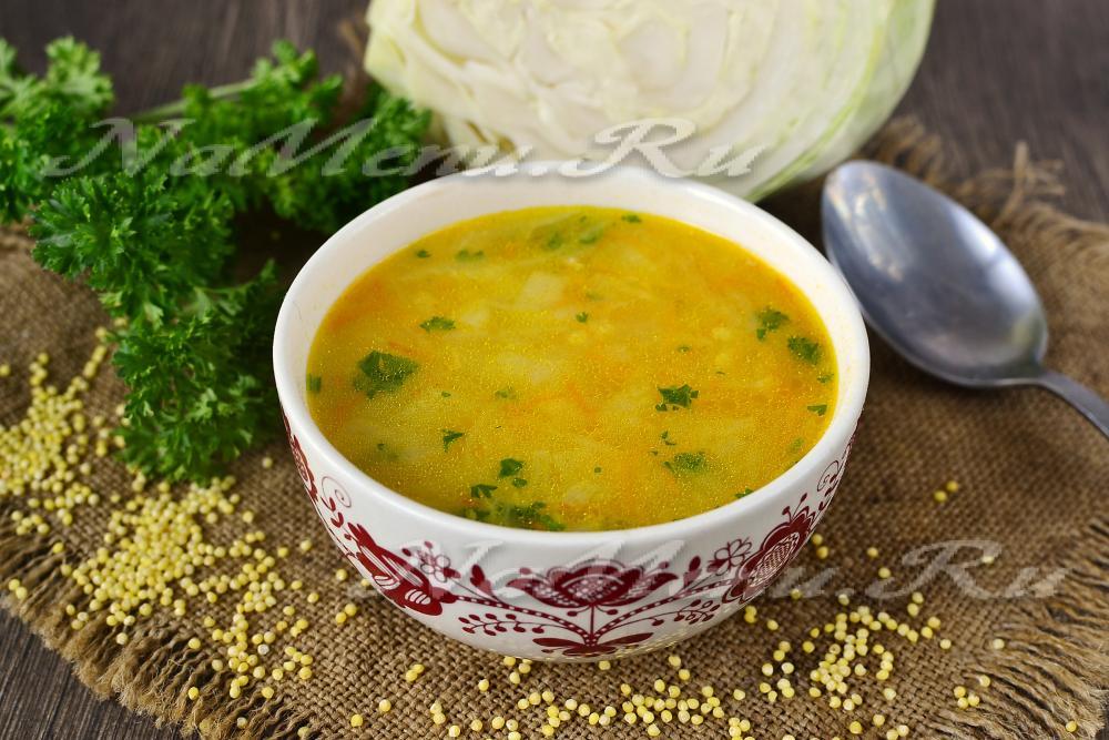 капустняк рецепт со свежей капустой и пшеном и картошкой