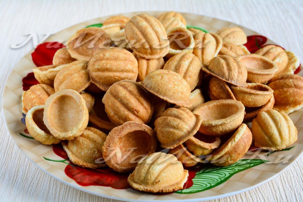 Печенье орешки со сгущенкой старый рецепт фото