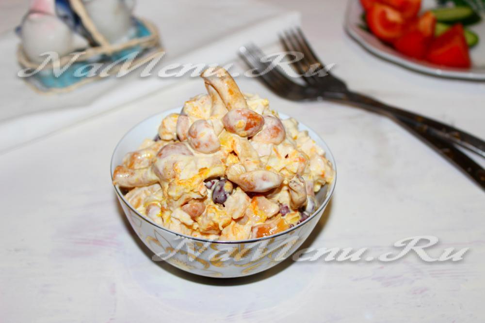 Блюда из грибов в слоеном тесте