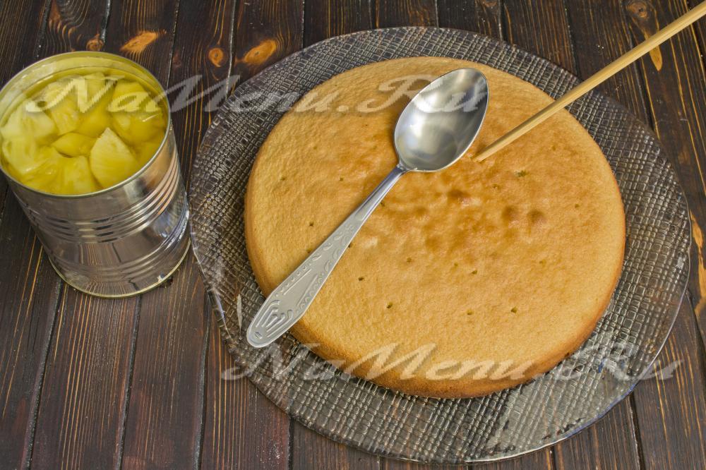 Торт панчо с ананасами пошаговый рецепт с фото в мультиварке