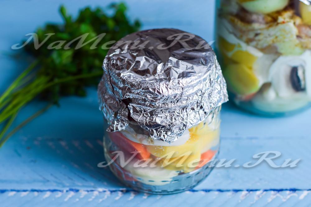 курица с грибами в духовке рецепт с фото пошагово и картофелем