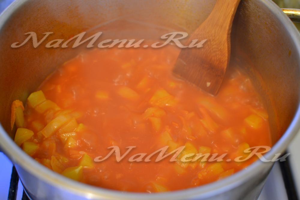 Лечо с томатной пастой и морковью на зиму рецепты с пошагово