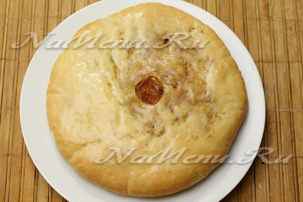 Осетинские пироги с мясом рецепты с фото пошагово