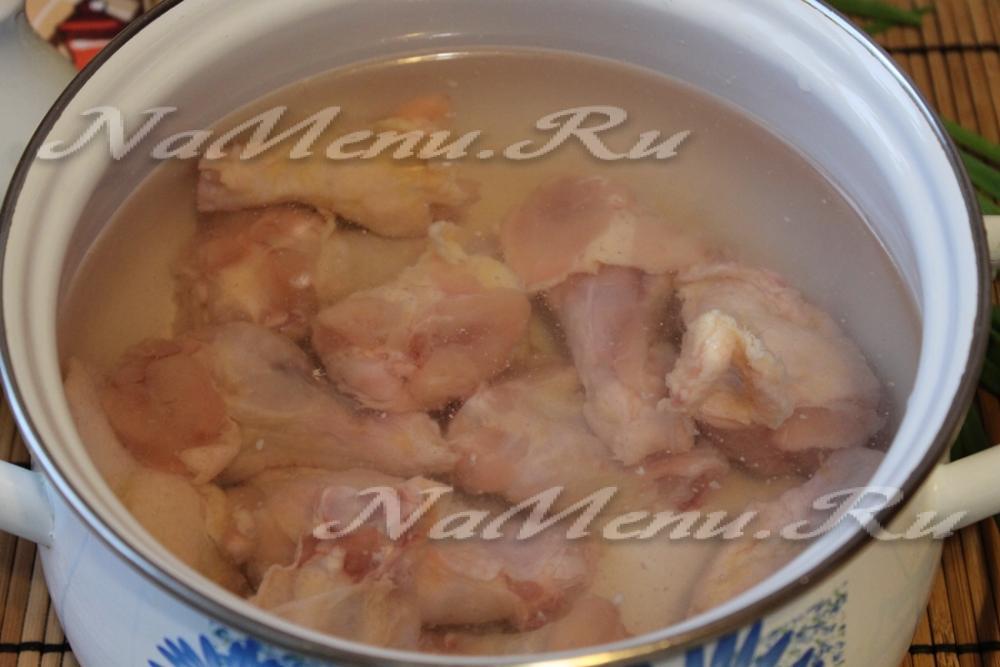 вкусный куриный суп пошаговый рецепт с фото