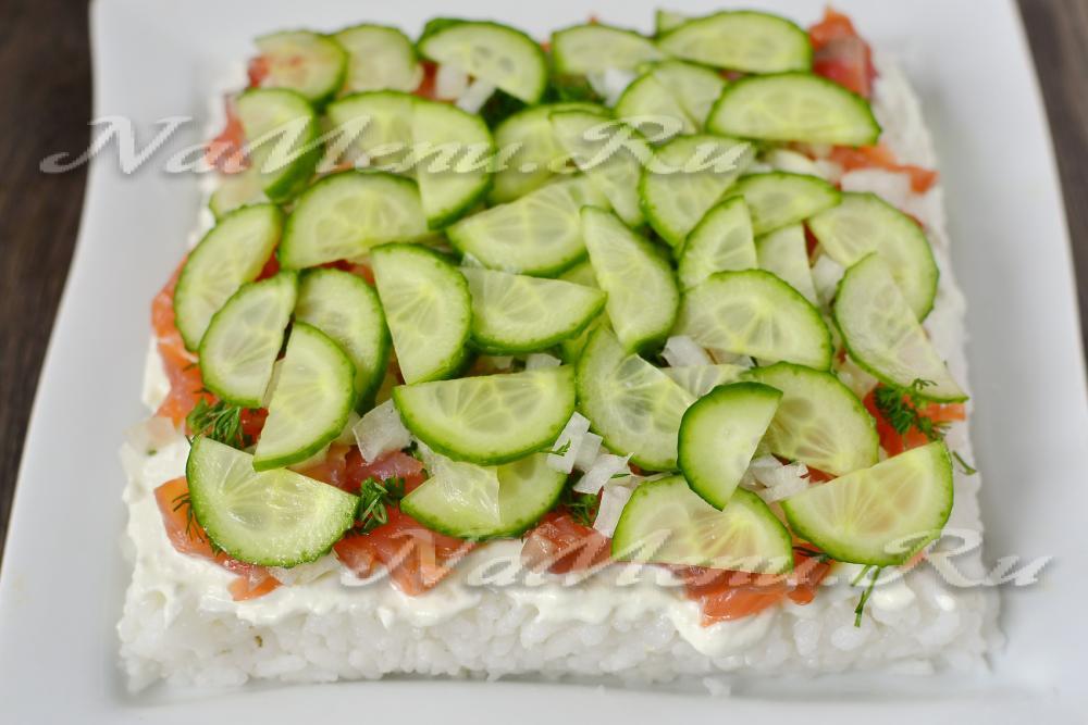 салат торт слоями рецепт с фото