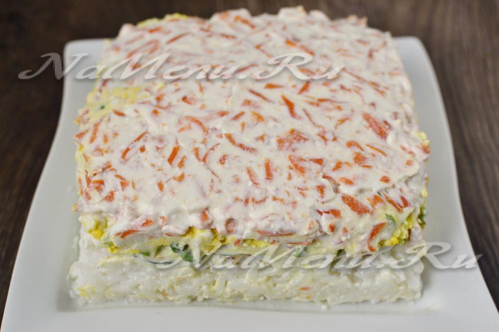 Салат суши пошаговый рецепт с фото отзывы