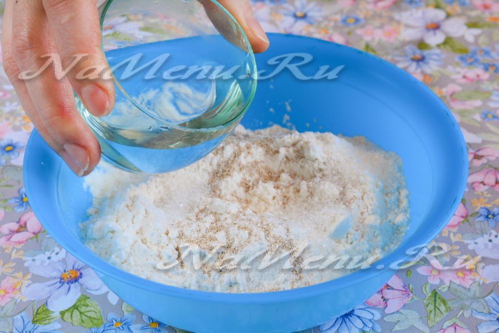 Рецепт вкусного теста с сухими дрожжами