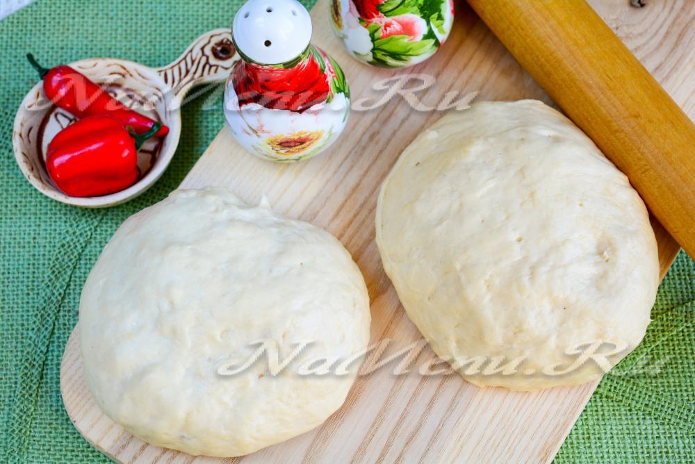 Тесто для пиццы кулинарный