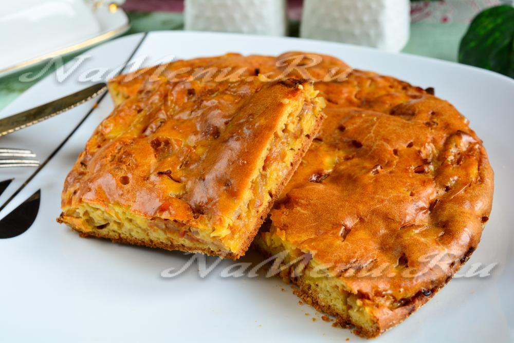 пирожки с капустой на сметане в духовке рецепт