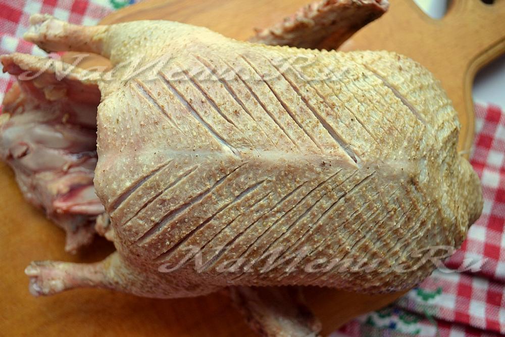 рецепт утки запеченной в духовке с картошкой