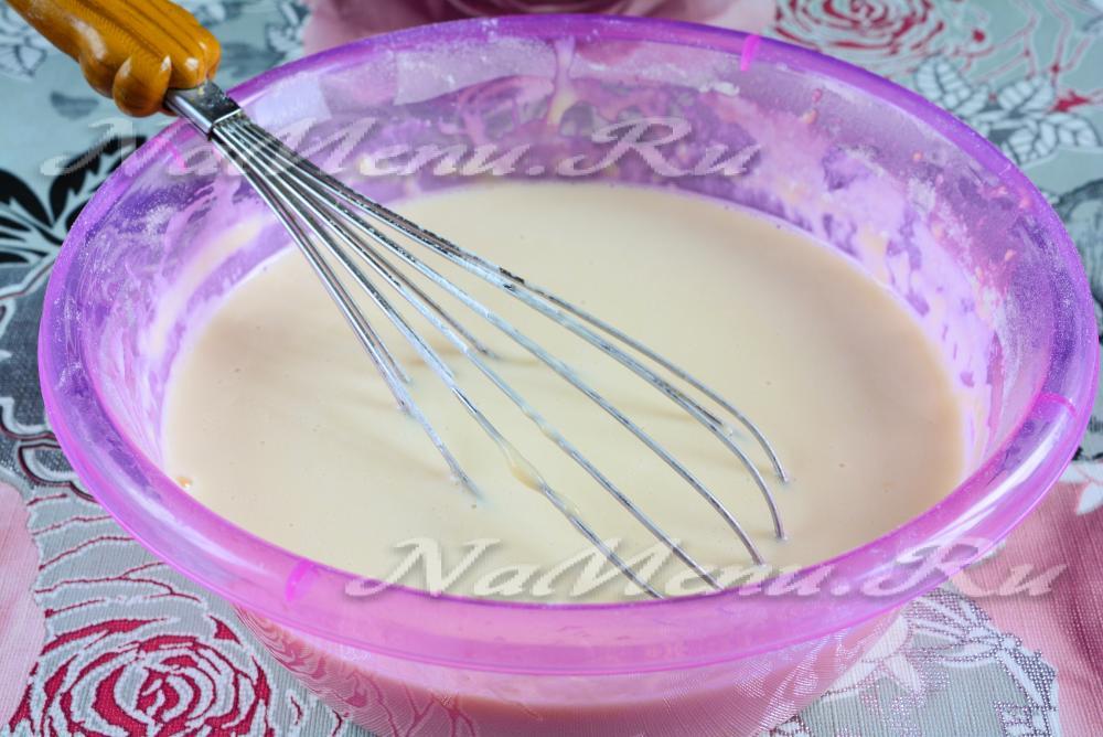Рецепт блинов на молоке и воде рецепт с пошагово с дырочками