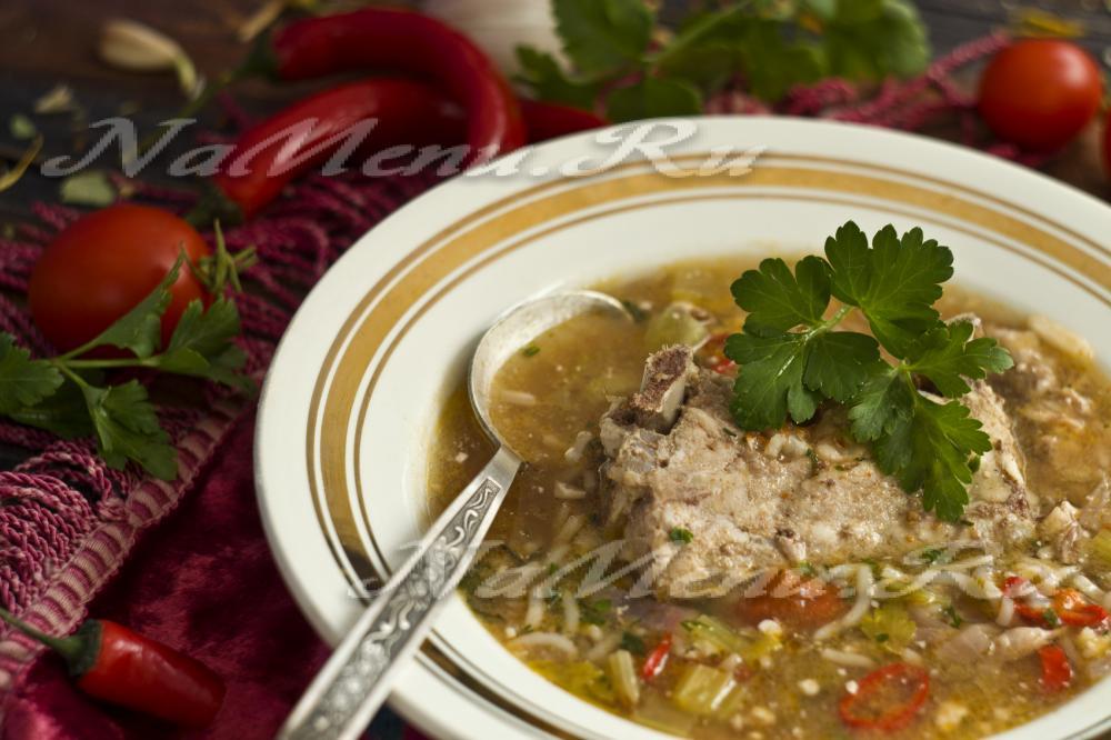 Супы домашние рецепты фото харчо