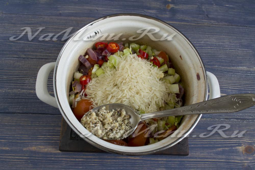 Рецепт харчо классический с рисом с фото пошагово