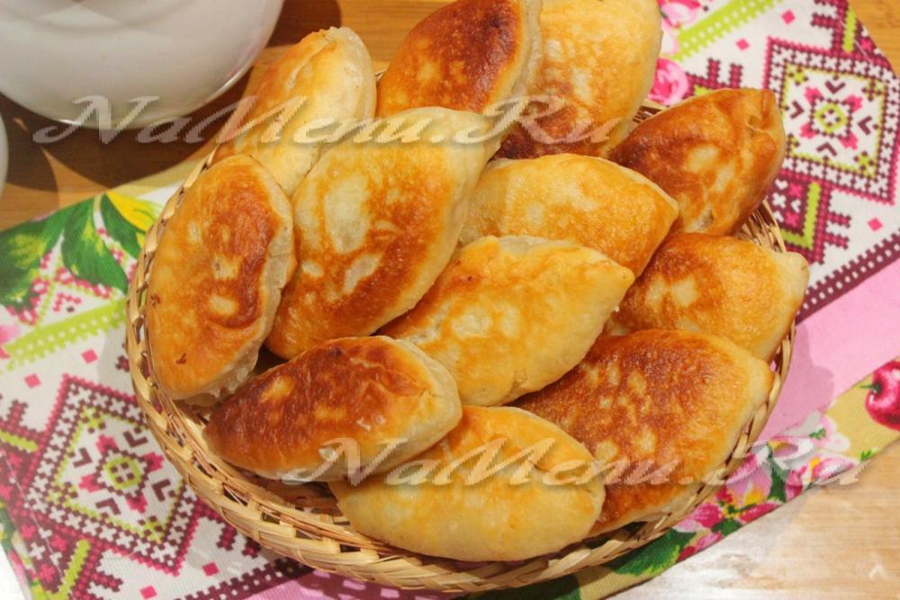 пышные пирожки на сковороде рецепт с фото