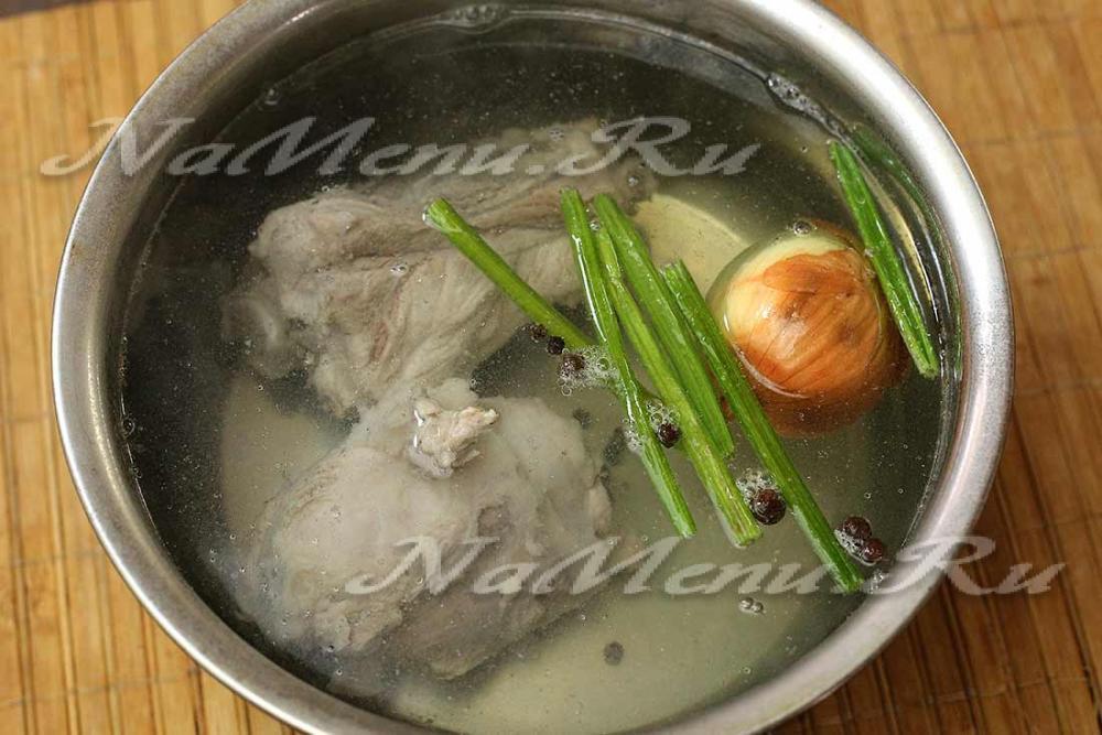 суп рисовый со свининой рецепт с фото