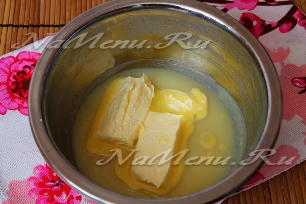 Крем со сгущенкой и маслом рецепт с пошагово