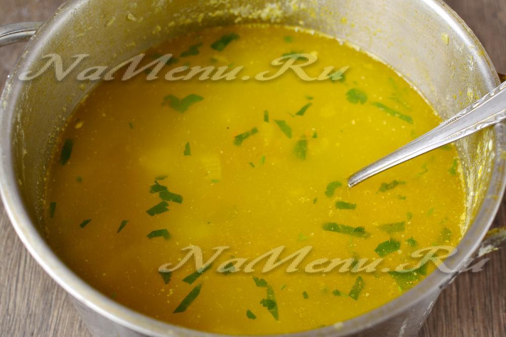 Гороховый суп пюре с копченостями рецепт пошагово 82