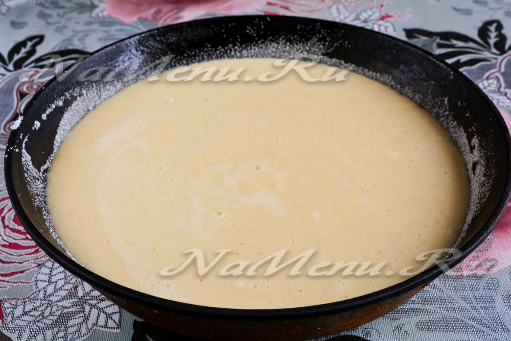 манник на молоке пошаговый рецепт с фото классический