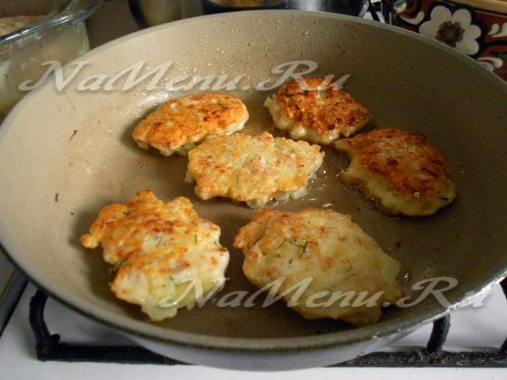 Оладьи из куриного филе рецепты на сковороде