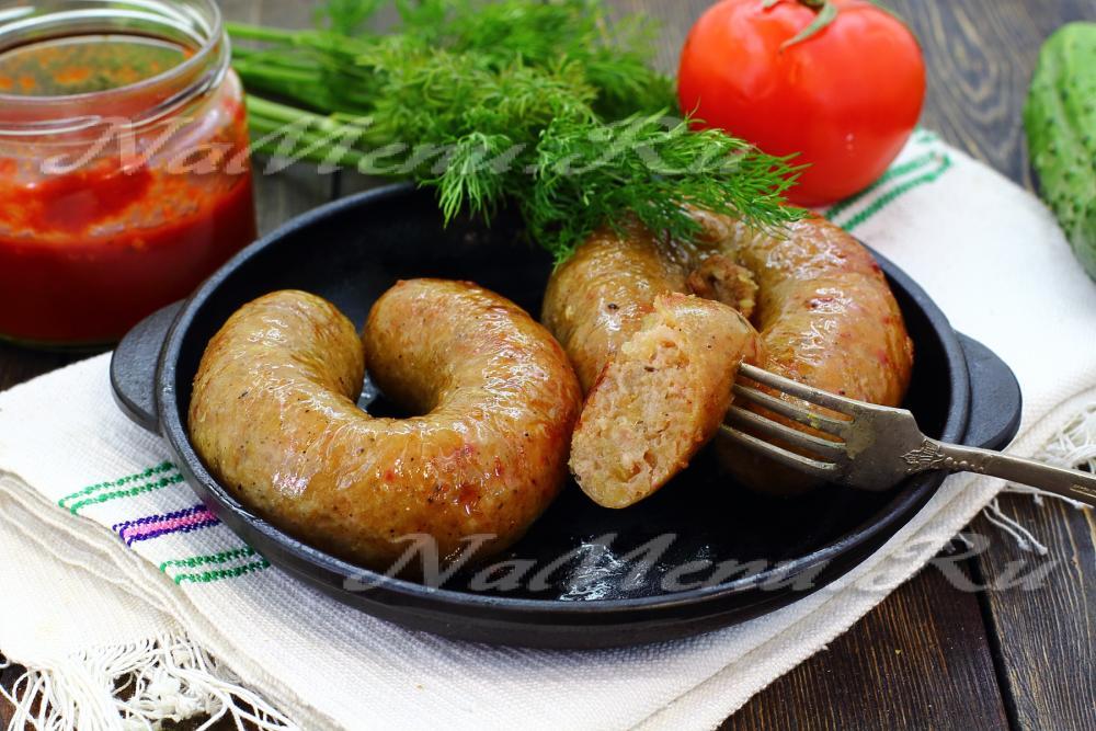 Картофельные колбаски рецепт фото