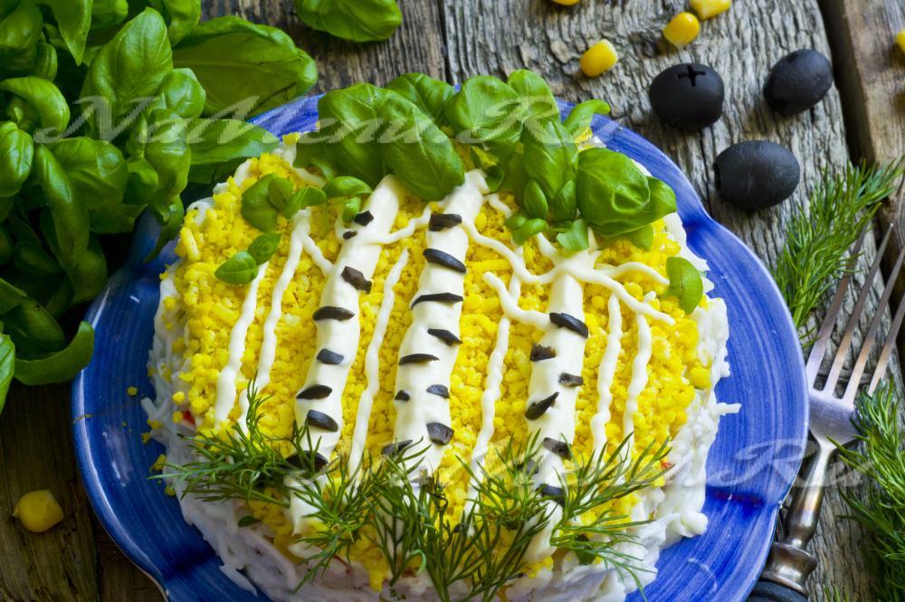 Салат шуба с яйцом рецепт фото