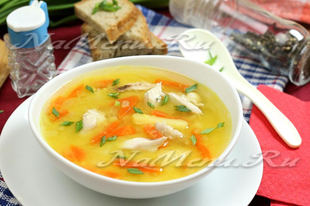 как приготовить гороховый суп с курицей пошаговый рецепт с фото