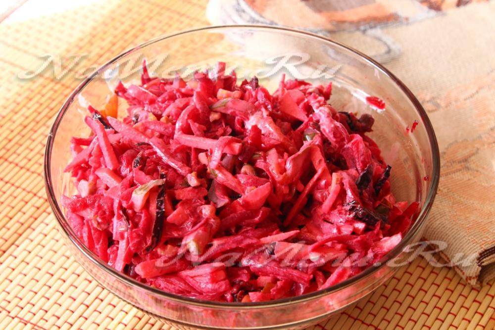 пиковая дама салат рецепт с фото
