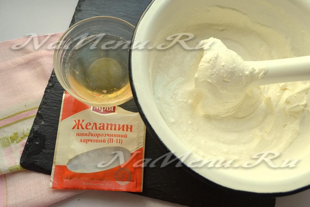 Десерт с творогом и желатином пошаговые рецепты