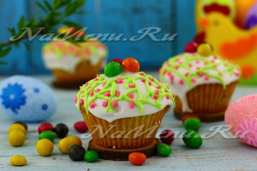 Пасхальные кексы рецепты с фото