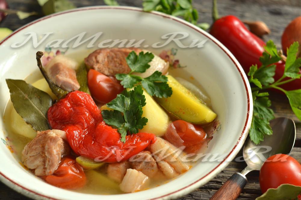 Шулюм рецепт пошагово