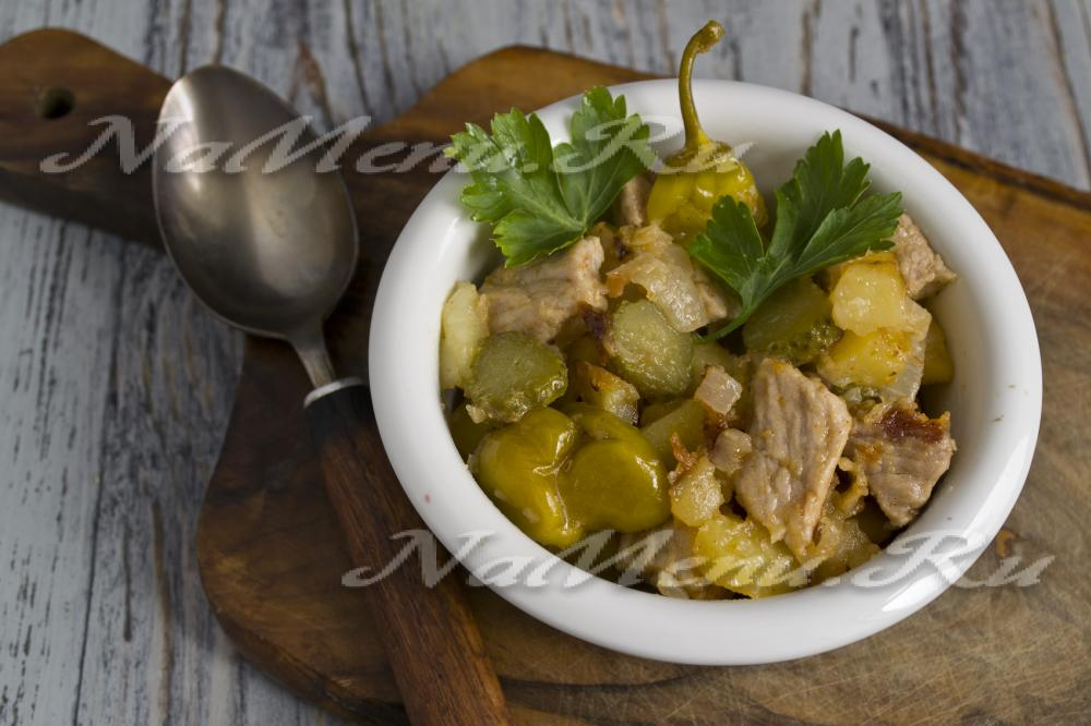 Рецепты азу по-татарски с пошагово