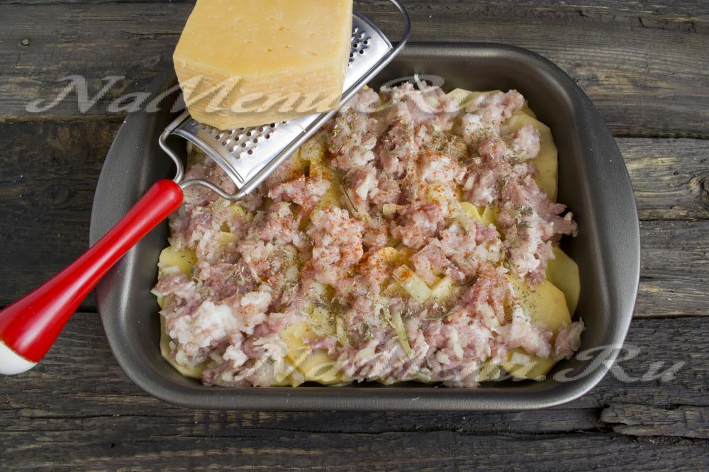 Картофель гратен рецепт с фото