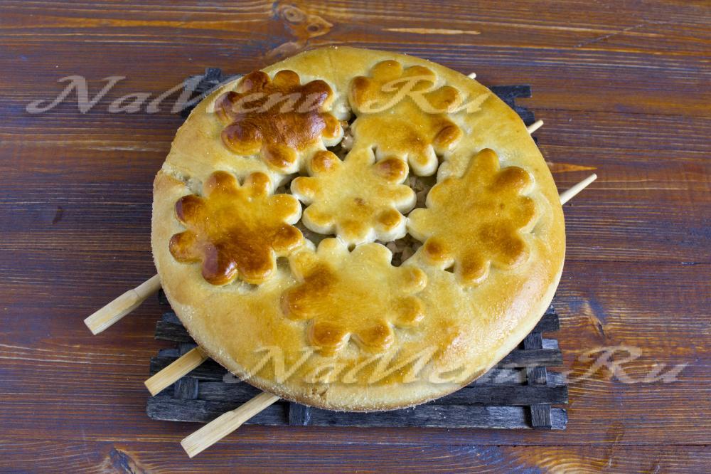 Пироги на кефире с картошкой