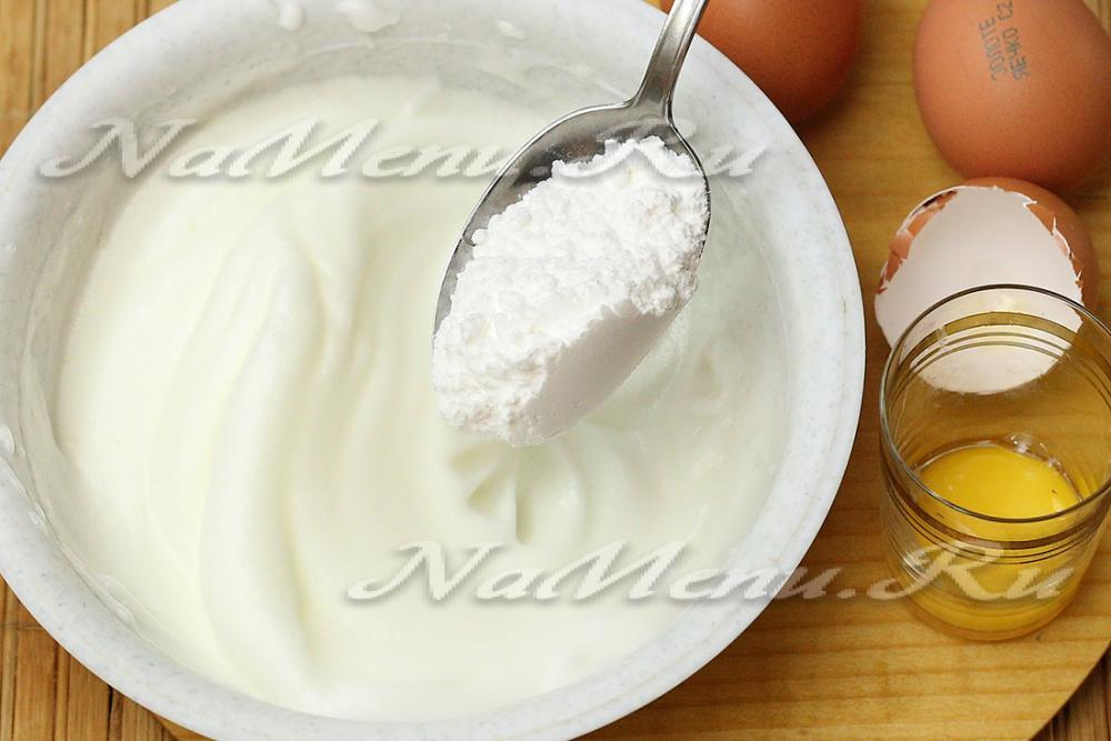 Как сделать глазурь из сахарной пудры и белка