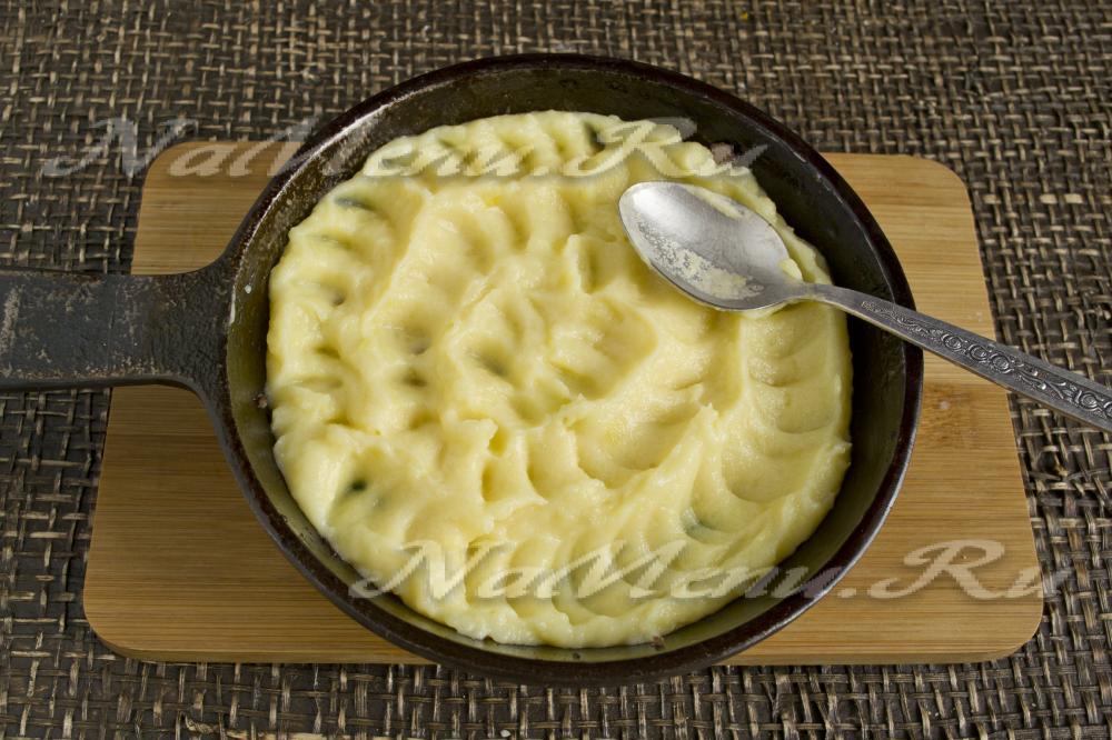 картофельная запеканка с мясом в духовке рецепт фото