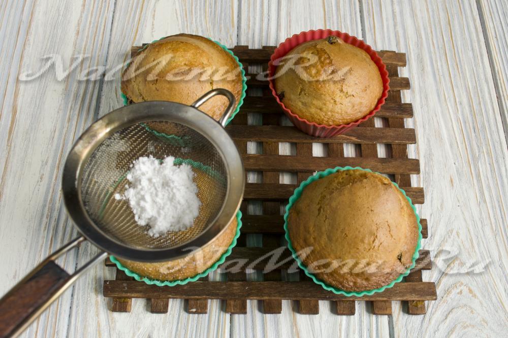 Кексы на кефире рецепты в силиконовых