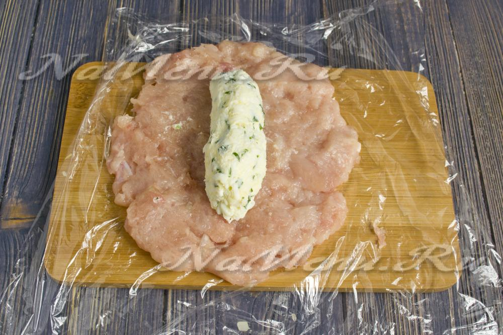 Котлеты по-киевски с фарша свинины рецепт с пошаговым фото