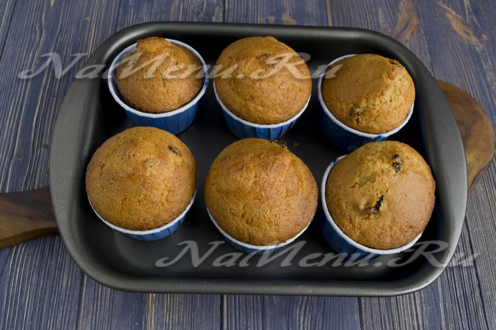 Как сделать кексы в духовке в формочках