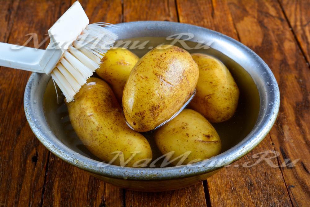 Картошка деревенски пошаговый рецепт фото