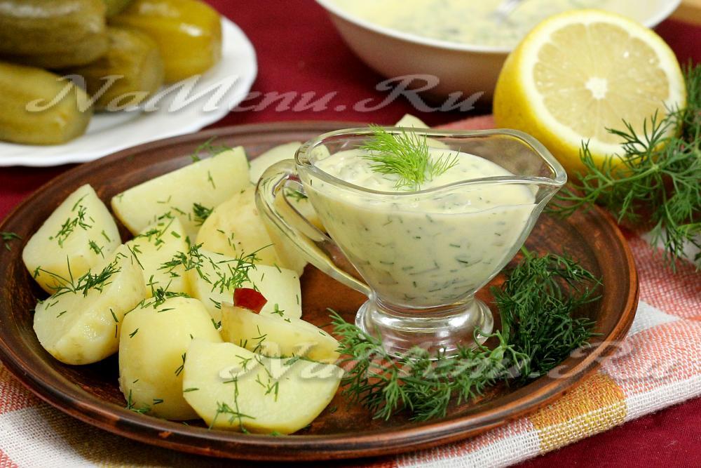 Рецепт соуса тартар в домашних условиях 63