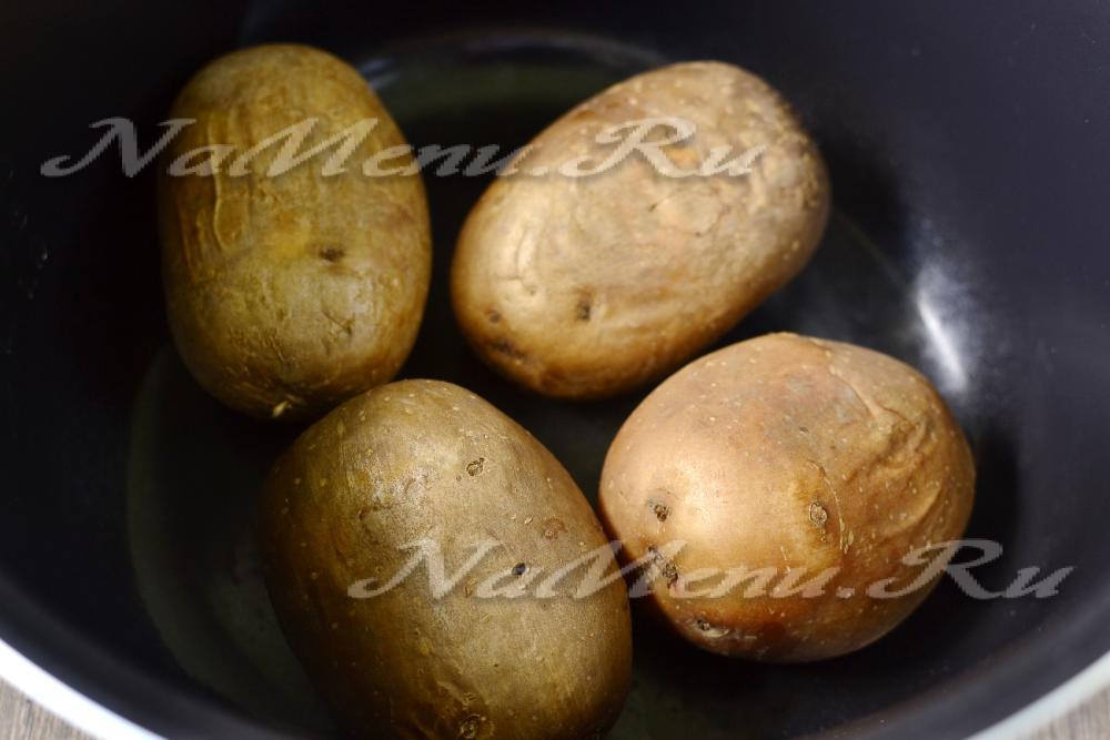 крошка картошка в духовке рецепт с фото
